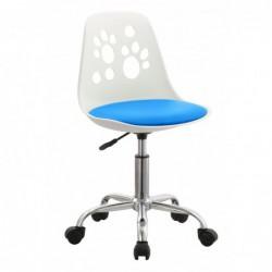 Krzesło obrotowe niebieski...