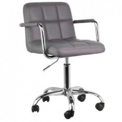 Fotel biurowy szary N-13