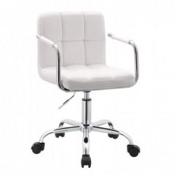 Fotel biurowy biel N-13
