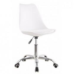 Krzesło obrotowe biel +...