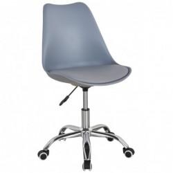 Krzesło obrotowe szary +...