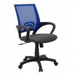 Fotel biurowy niebieski...
