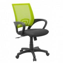 Fotel biurowy zielony QZY-1121