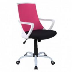 Fotel biurowy róż CX-0722M