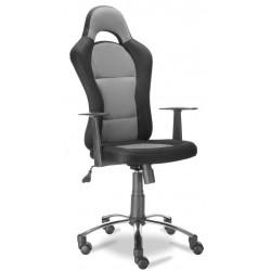 Fotel biurowy szary QZY-1109C