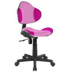 Krzesło obrotowe różowe...