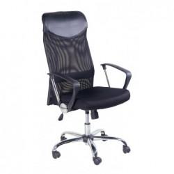 Fotel biurowy czarny QZY-2501