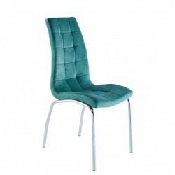 Krzesło velvet zielone...
