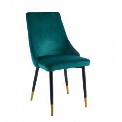 Krzesło velvet zielone GRS-031