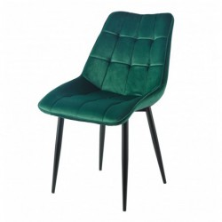 Krzesło velvet zielone J262-1