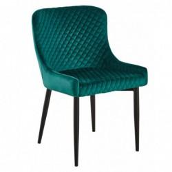 Krzesło velvet zielony MC-15
