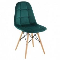 Krzesło velvet zielone PC-106