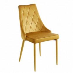Krzesło velvet curry MC-01-2