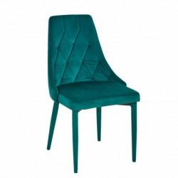 Krzesło velvet zielone MC-01-2