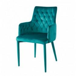 Krzesło velvet zielone MC-02-2