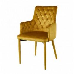 Krzesło velvet curry MC-02-2