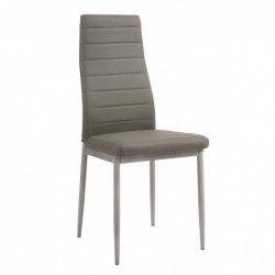 Krzesło szare F261-3-KD