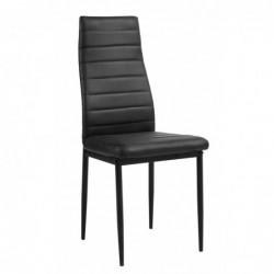 Krzesło czarne F261-3-KD