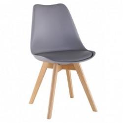 Krzesło szary PC-010