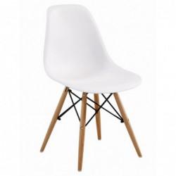 Krzesło biały PC-015