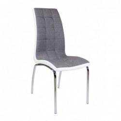 Krzesło tapicerowane szare...