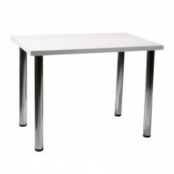 Stół biały połysk 60x90 S-01