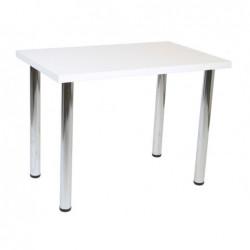 Stół biały mat 64x102 S-02