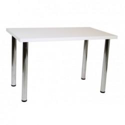 Stół biały mat 68x120 S-03