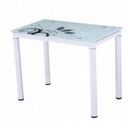 Stół szklany biały DT1-310