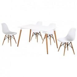 Zestaw stół i krzesła P-15
