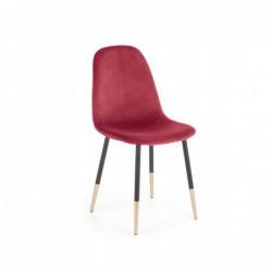 K379 krzesło bordowy