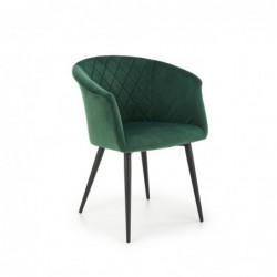K421 krzesło ciemny zielony