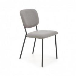 K423 krzesło popielaty
