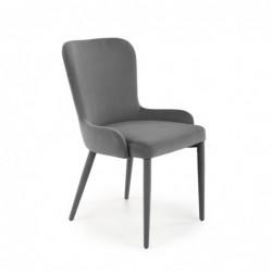 K425 krzesło popielaty