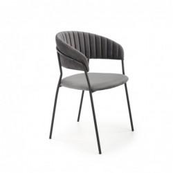 K426 krzesło popielaty