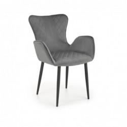 K427 krzesło popielaty