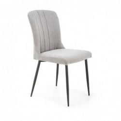 K428 krzesło jasny popiel