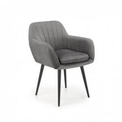 K429 krzesło popielaty