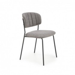 K433 krzesło popielaty