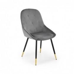 K437 krzesło popielaty