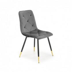 K438 krzesło popielaty