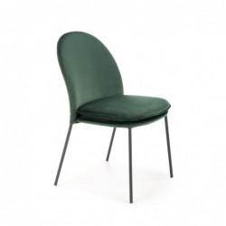 K443 krzesło ciemny zielony