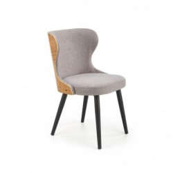 K452 krzesło popielaty/dąb...