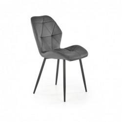 K453 krzesło popielaty