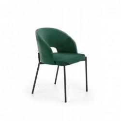 K455 krzesło ciemny zielony