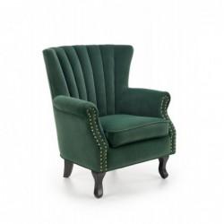 TITAN fotel ciemny zielony