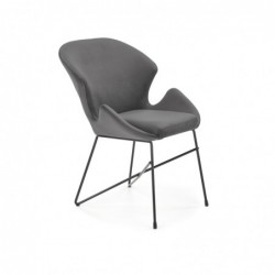 K458 krzesło popielaty
