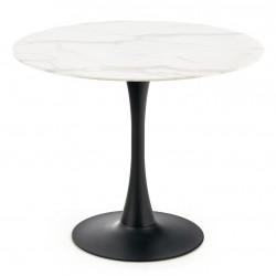 Stół okrągły AMBROSIO szklany