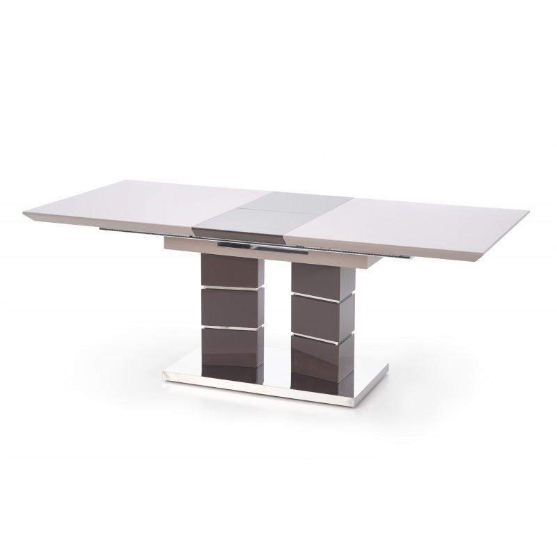 Stół rozkładany LORD popielaty/szary Halmar
