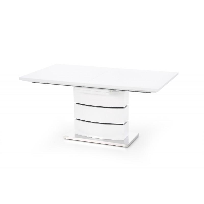Stół rozkładany NOBEL biały Halmar